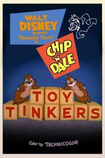 Affiche Poster donald arbre noël toy tinkers disney