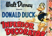 Affiche Poster donald décorateur inferior decorator disney