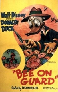 Affiche Poster donald sentinelle bee guard disney
