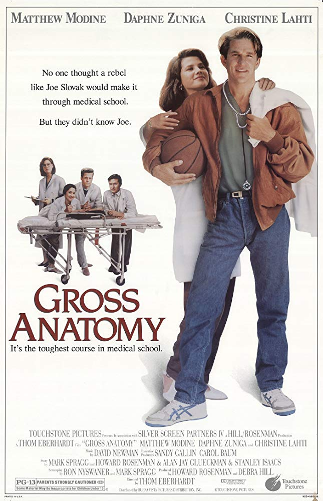 Affiche Poster gross anatomy disney touchstone