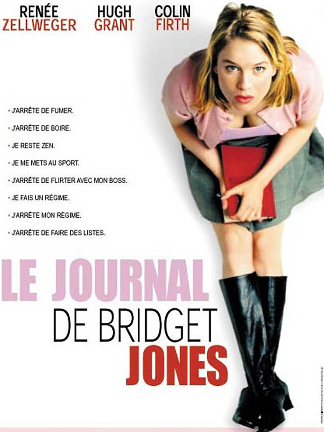 Affiche Poster journal bridget jones diary disney miramax