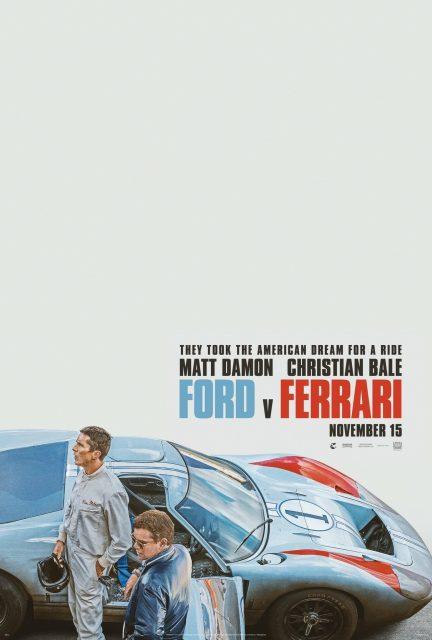Affiche Poster le mans 66 ford ferrari disney fox