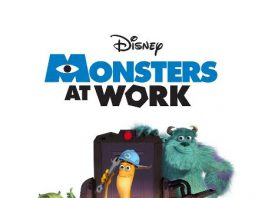 Affiche Poster monsters at work disney pixar