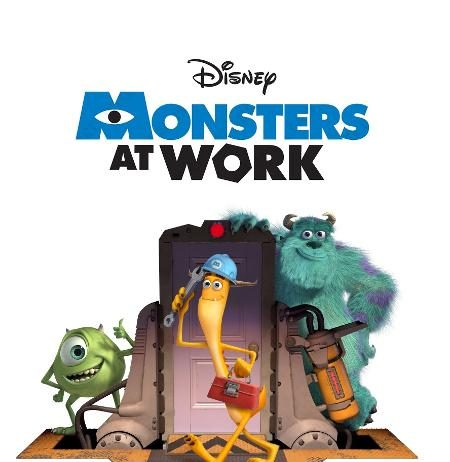 Affiche Poster monsters at work disney pixar
