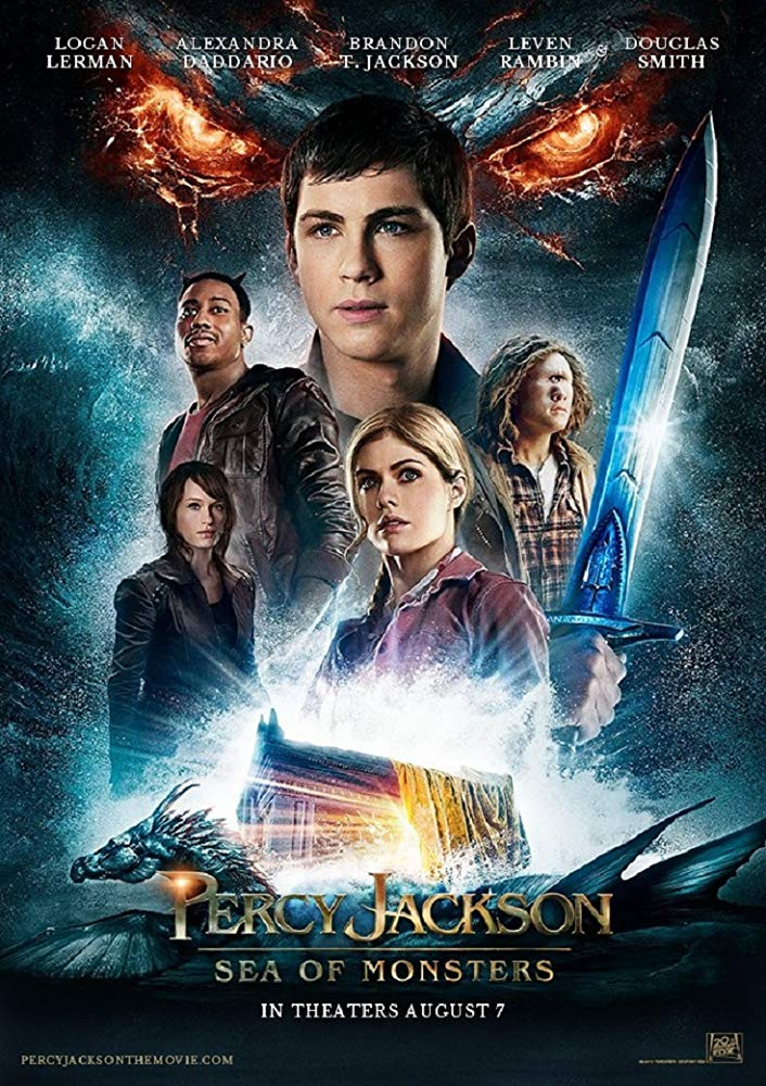 Affiche Poster percy jackson mer monstres olympians sea monsters disney fox