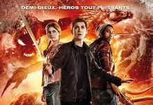 affiche film percy jackson mer monstres fox