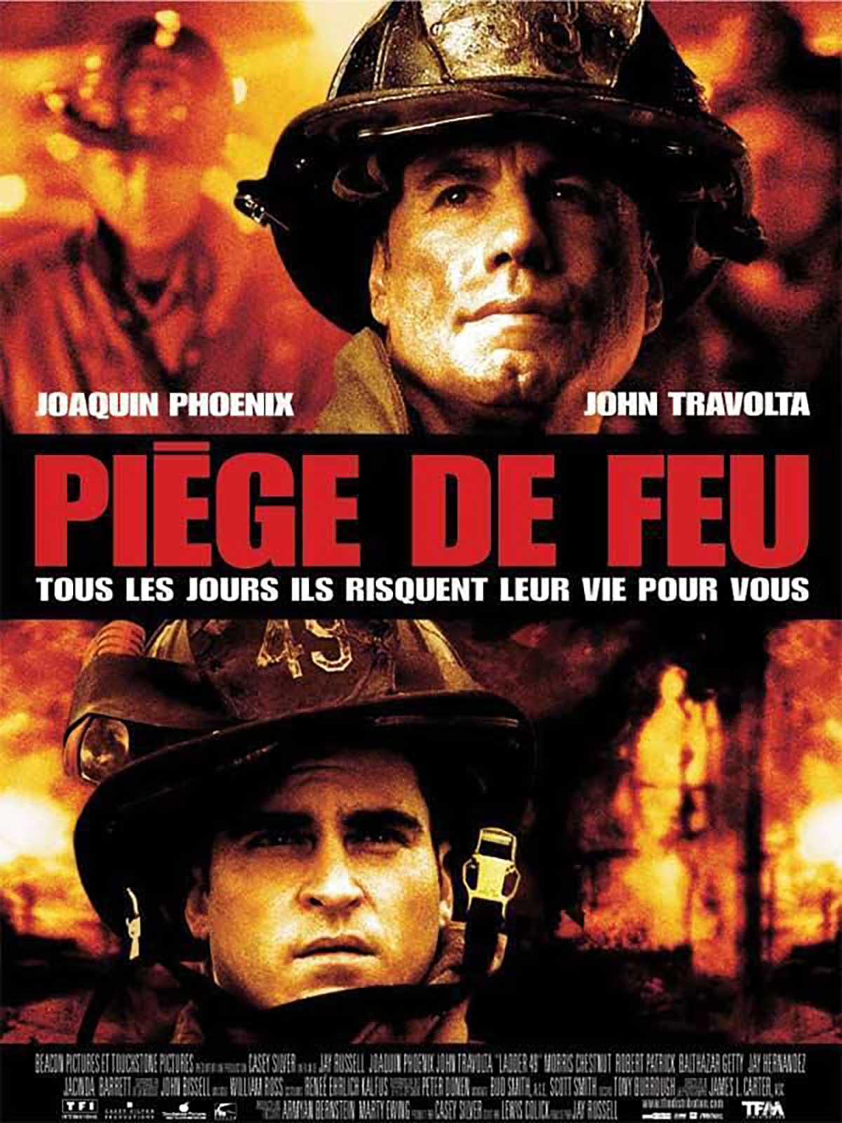 Affiche Leader ladder 49 piege feu disney touchstone
