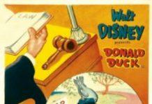 Affiche Poster procès donald trial disney