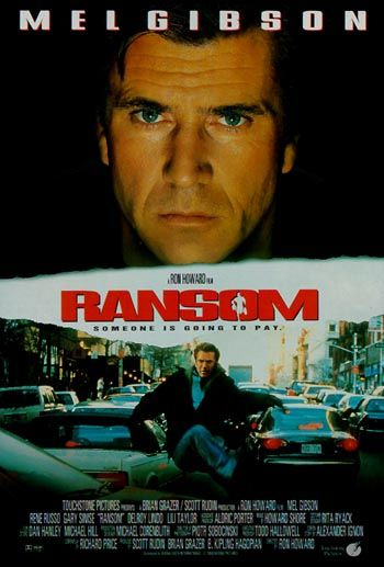 Affiche Poster rançon ransom disney touchstone