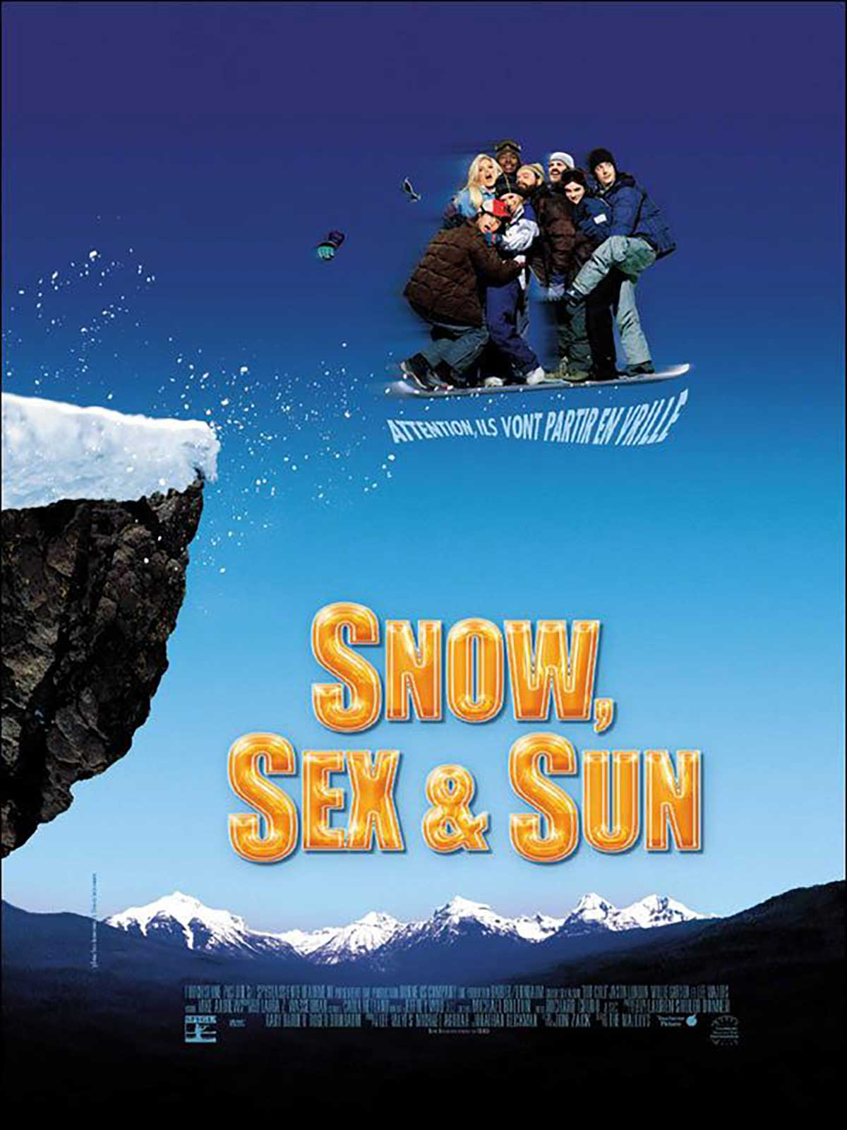 Affiche Poster snow sex sun out cold disney touchstone
