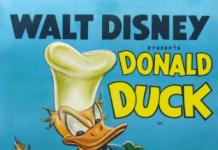 Affiche Poster donald soupe disney