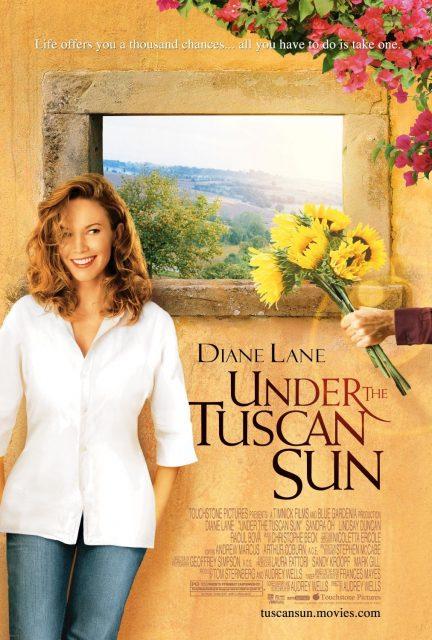 Affiche Poster soleil toscane tuscan under sun disney touchstone