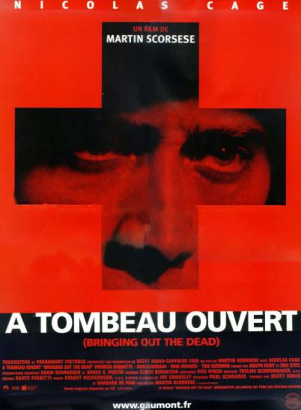 Affiche poster tombeau ouvert Bringing Out Dead disney touchstone
