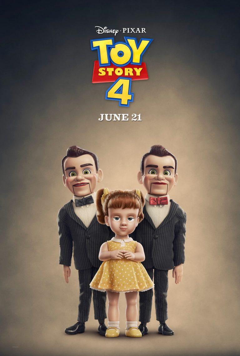 """""""Toy Story 4"""" : les affiches des personnages secondaires."""