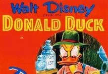 Affiche Poster verger donald applecore disney