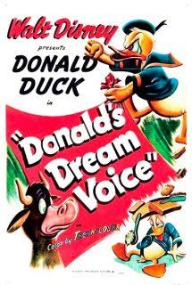 Affiche Poster voix rêve donald dream voice disney