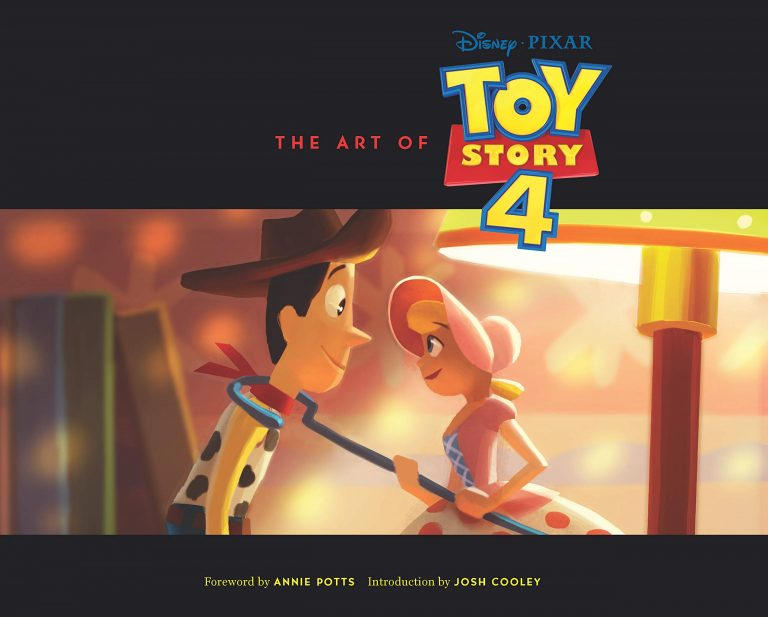 "Le livre ""The Art of Toy Story 4""."