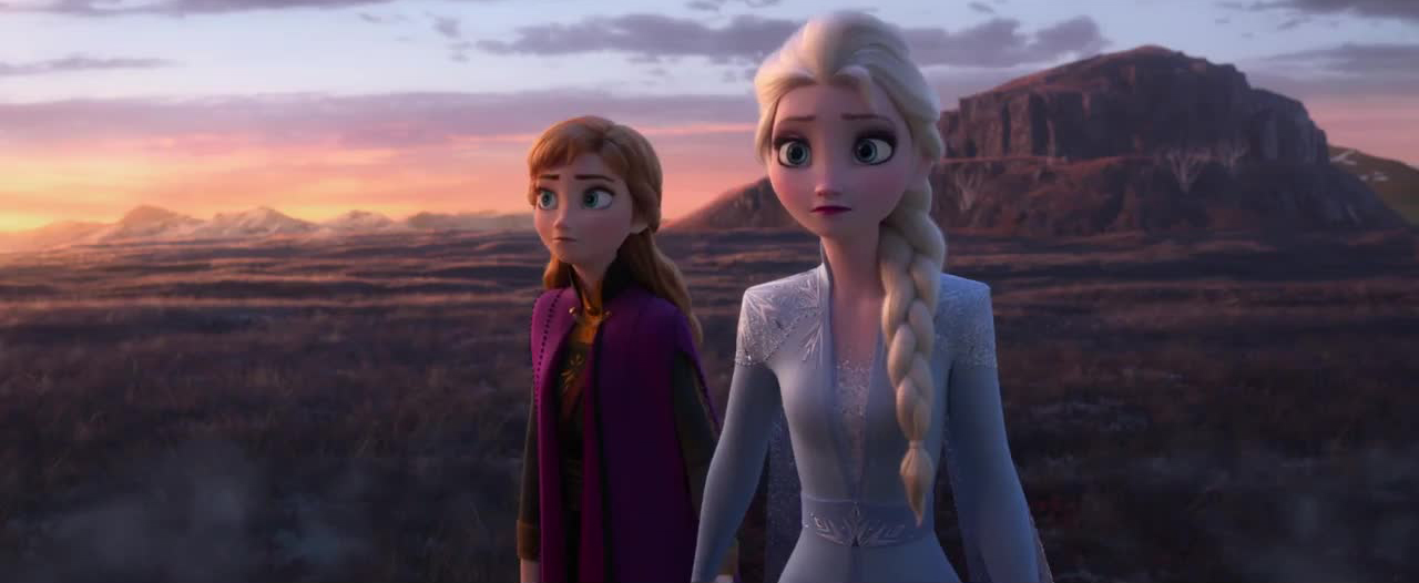 capture reine neiges frozen 2 disney