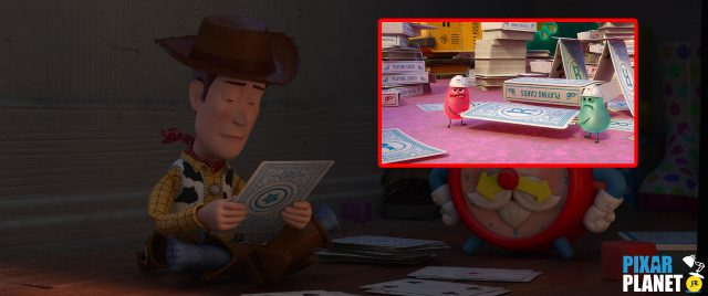 clin oeil easter egg toy story 4 disney pixar