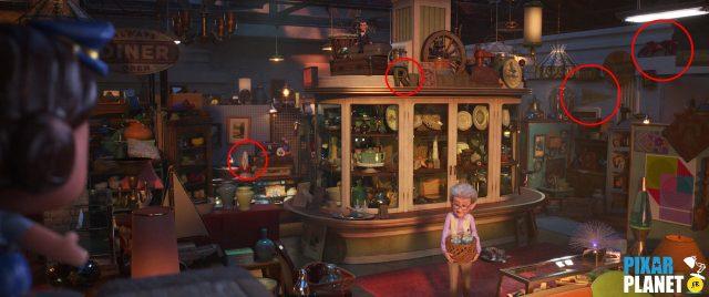 clin oeil easter egg toy story 4 disney pixar