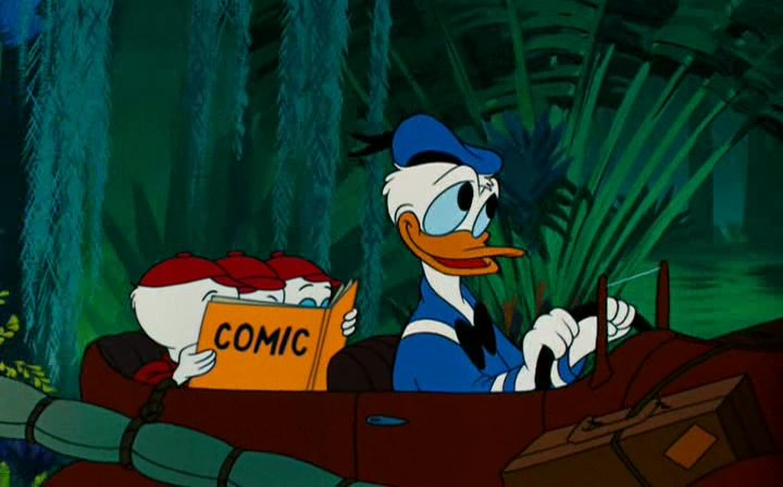 Image donald fontaine jouvence fountain youth disney