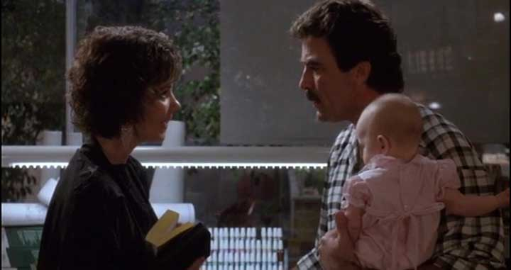 Image trois hommes bébé three men baby disney touchstone