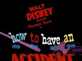 Affiche Poster donald accidents ménagers how have home disney