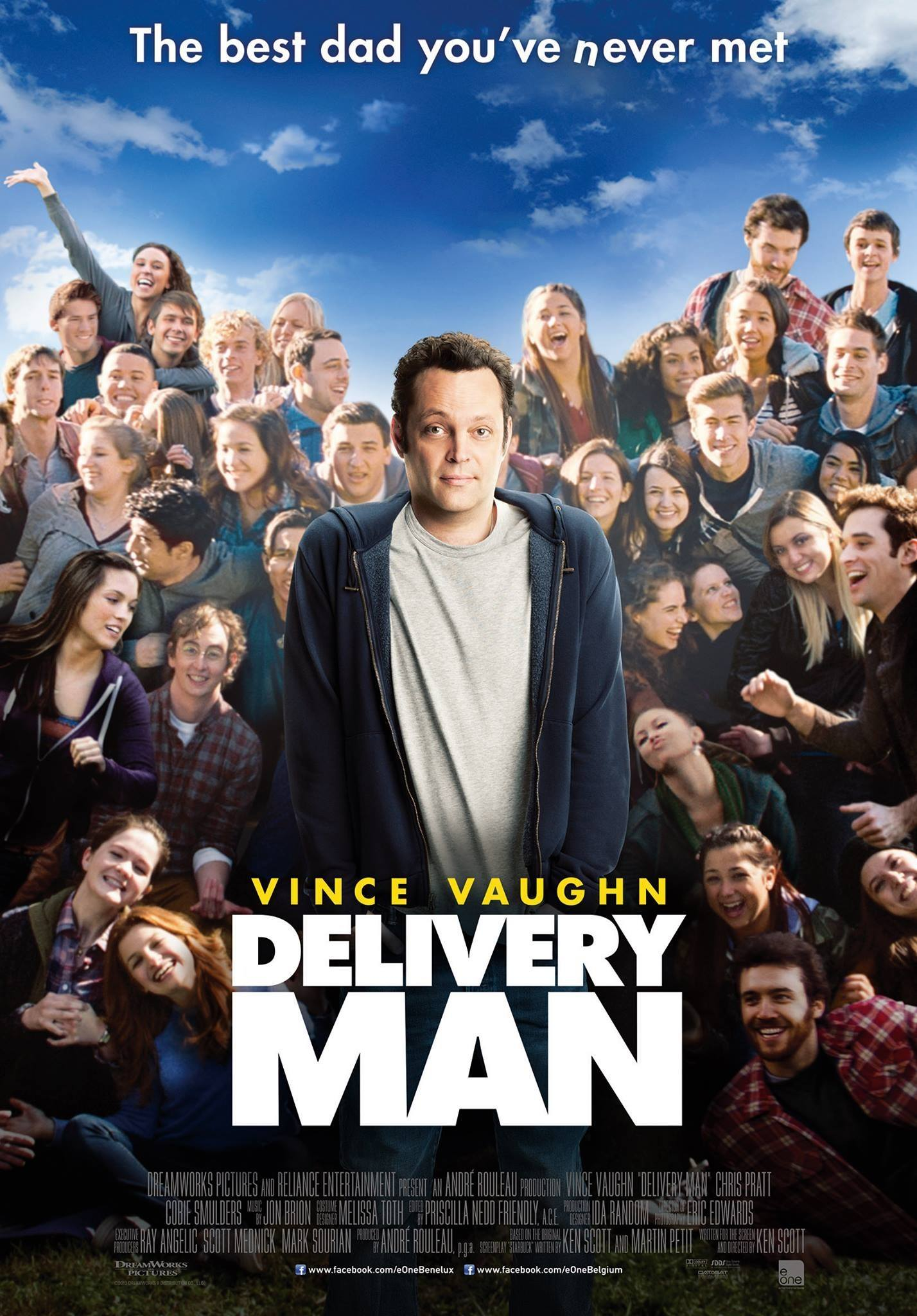 Affiche Poster delivery man disney touchstone