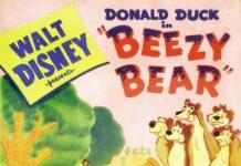 Affiche Poster donald abeilles beeze bear disney