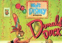 Affiche Poster donald crise cured duck disney