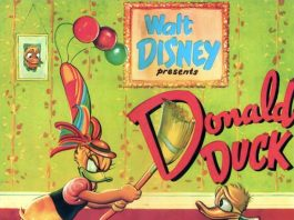 Affiche Poster donald crise cured duck disney
