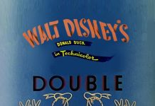 Affiche Poster donald double trouble disney