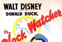 Affiche Poster donald emballeur clock watcher disney