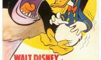 Affiche Poster donald gorille gorilla disney