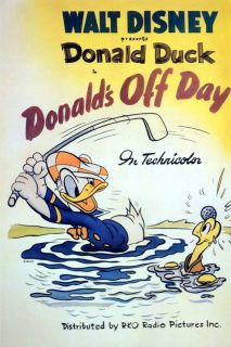 Affiche Poster donald sortie off day disney