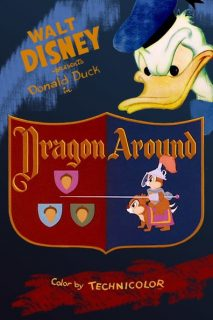Affiche Poster dragon mécanique around disney donald
