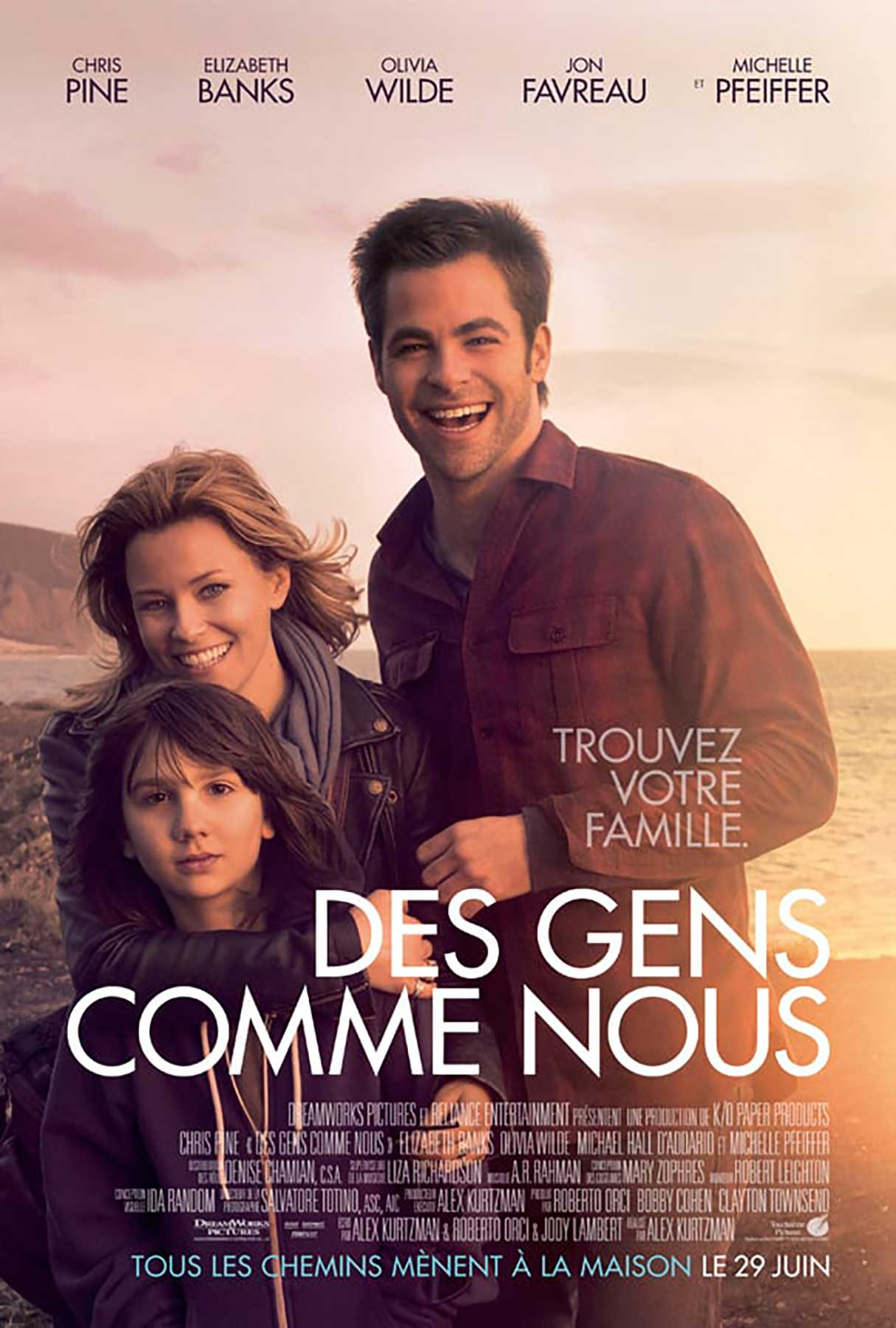 Affiche Poster gens comme nous people like us disney touchstone