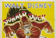 Affiche Poster donald imagination débordante duck pimples disney