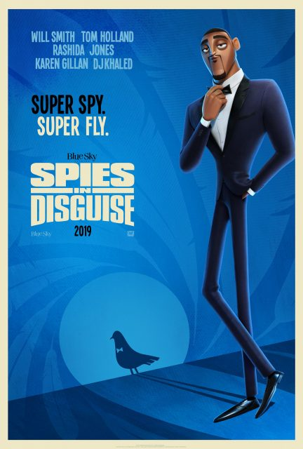 Affiche Poster incognitos spies disguise disney fox blue sky