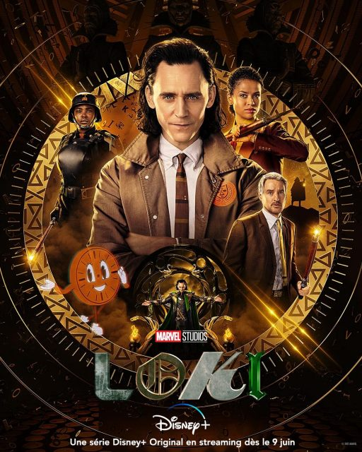 affiche poster loki disney marvel