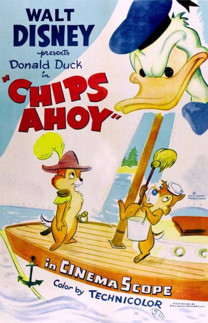 Affiche Poster ohe donald chips ahoy disney