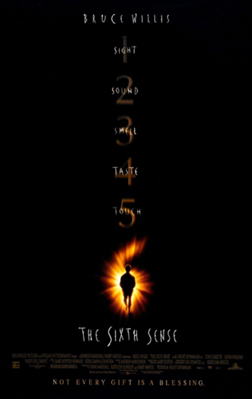 Affiche Poster sixième sens sixth sense disney hollywood