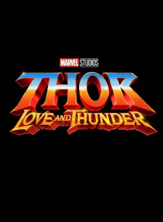 Affiche Poster thor love thunder disney marvel