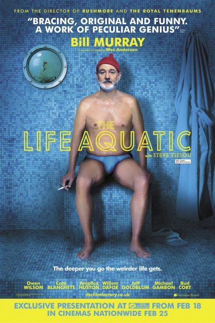 Affiche Poster vie aquatique life aquatic steve zissou disney touchstone