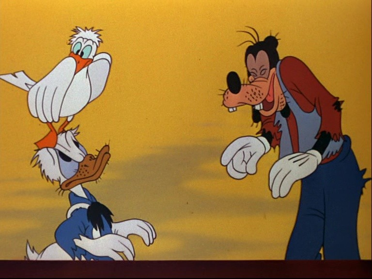 Image donald dingo goofy no sail marins disney