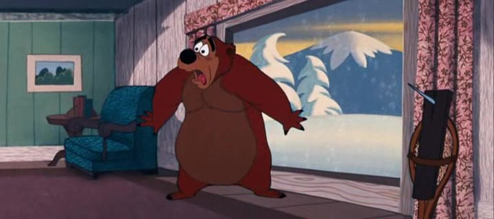 Image sommeil ours bearly asleep disney donald