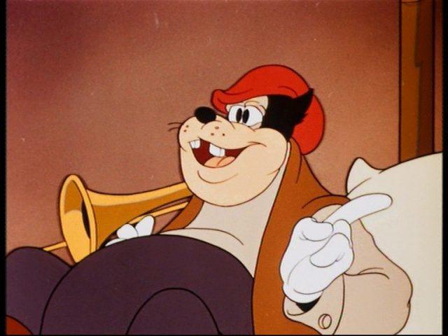 Image donald trombone coulisse touble disney