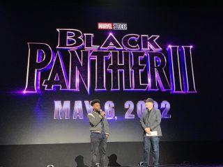 Logo black panther 2 disney marvel