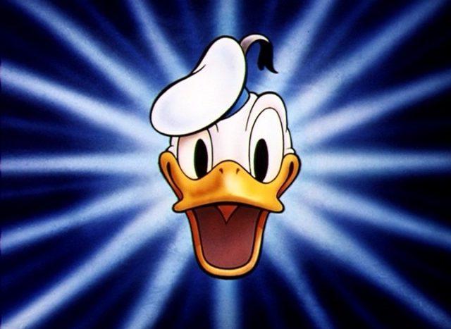logo série donald duck disney