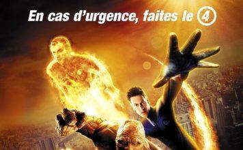 Affiche Poster 4 fantastiques four fantastic fox film marvel disney
